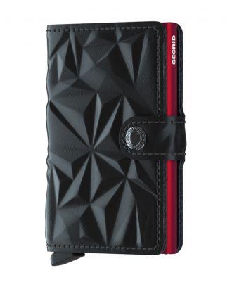 Secrid Wallets Miniwallet Prism - Zwart