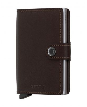 Secrid Wallets Miniwallet Original - Donkerbruin