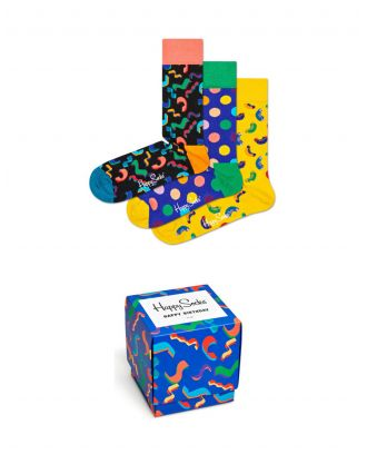 Happy Socks XBDA08.Happy Birthda - Diversen