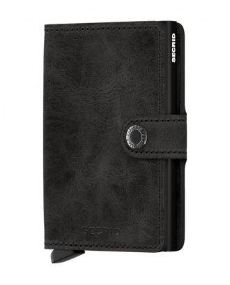 Secrid Wallets Miniwallet Vintage - Zwart