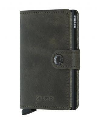 Secrid Wallets Miniwallet Vintage - Khaki