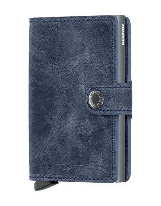 Secrid Wallets Miniwallet Vintage - Blauw