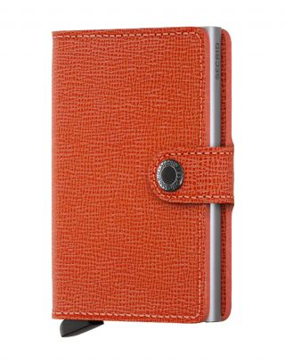 Secrid Wallets Miniwallet Crisple - Oranje