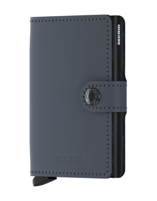 Secrid Wallets Miniwallet Matte - Grijs