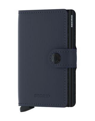 Secrid Wallets Miniwallet Matte - Donkerblauw