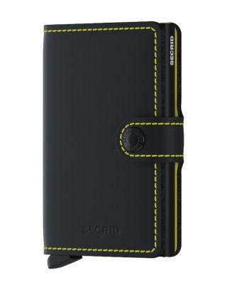 Secrid Wallets Miniwallet Matte - Geel