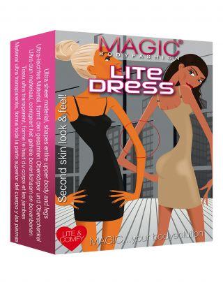 Magic Bodyfashion 13DL.LiteDress - Lichtbruin