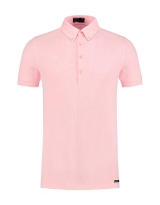 Morse Code Alpha1.pique-stretch - Pink