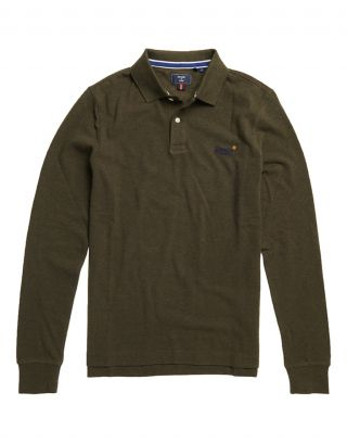 Superdry M1110093A - Donkergroen