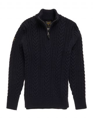 Superdry M6110041A - Donkerblauw