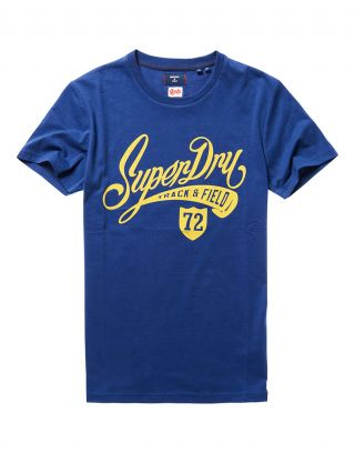 Superdry M1010881A - Donkerblauw