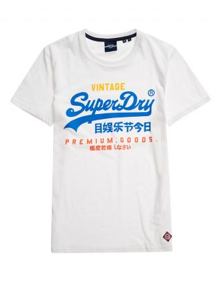 Superdry M1011003A - Wit