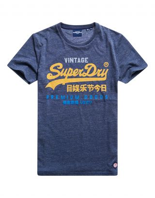 Superdry M1011003A - Donkerblauw