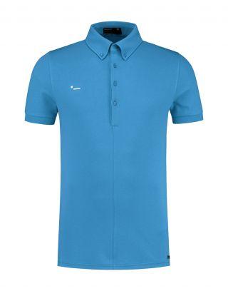Morse Code Alpha1/pique-stretch - Turquoise blauw